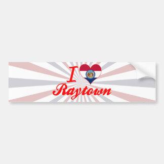 I Love Raytown, Missouri Bumper Stickers