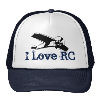 I Love RC Planes Trucker Hat