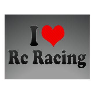 I love Rc Racing Postcard