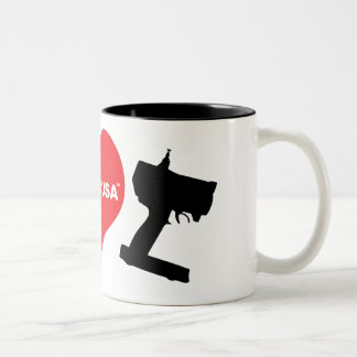 I Love RC Two-Tone Coffee Mug