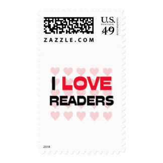 I LOVE READERS STAMPS
