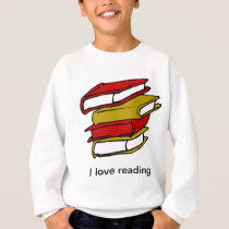 I love reading -Back to School Sweatshirt