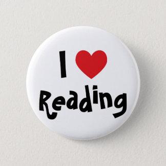I Love Reading Button