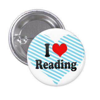 I love Reading Pin