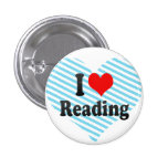 I love Reading Buttons