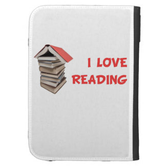 I Love Reading Kindle Case