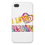 I Love Reading Covers For iPhone 4