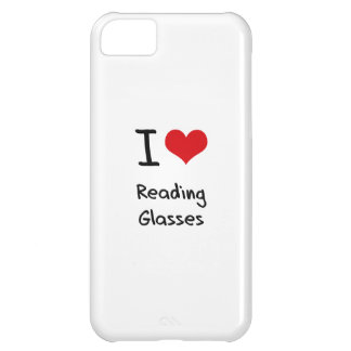 I Love Reading Glasses iPhone 5C Covers