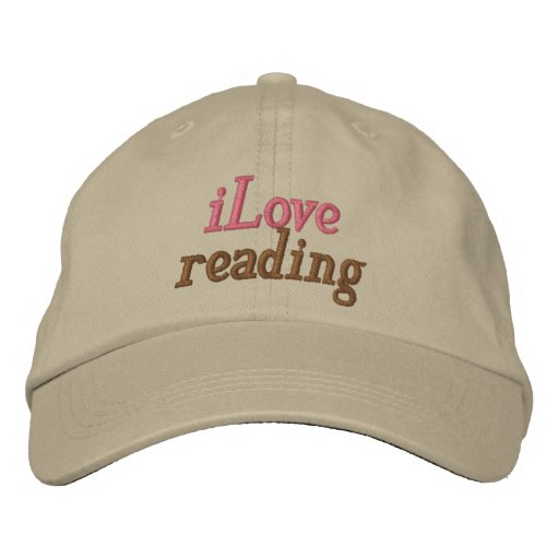 I Love Reading Hat