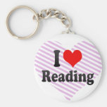 I love Reading Key Chains