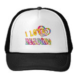 I Love Reading Mesh Hat