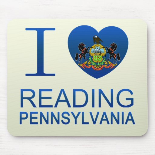 I Love Reading, PA Mouse Pad