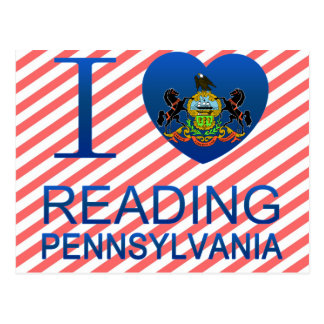 I Love Reading, PA Postcards