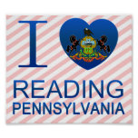 I Love Reading, PA Posters