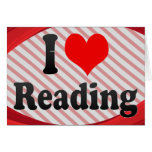 I love Reading Stationery Note Card