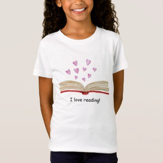 """I Love Reading"" T-shirt"