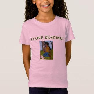 I LOVE READING! Tee-shirt for girls T-Shirt