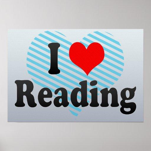 Love Reading, United Kingdom Print