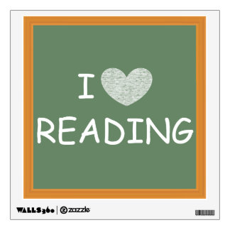 I Love Reading Wall Graphics