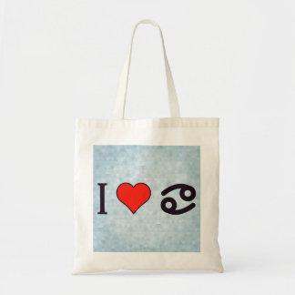 I Love Reading Zodiac Tote Bag