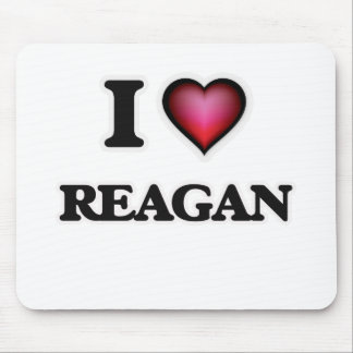 I Love Reagan Mouse Pad