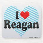 I Love Reagan Mouse Pad