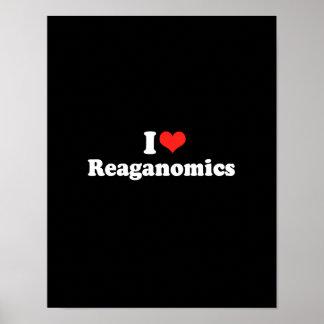 I LOVE REAGANOMICS.png Posters