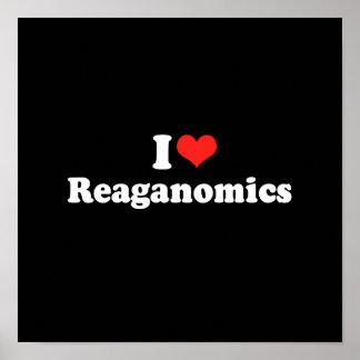 I LOVE REAGANOMICS.png Print