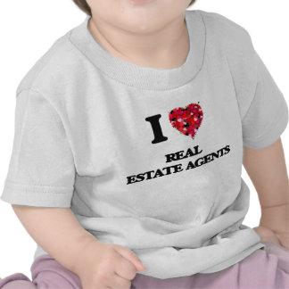 I love Real Estate Agents Shirts