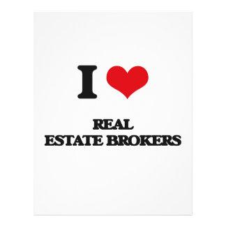 I love Real Estate Brokers Flyer