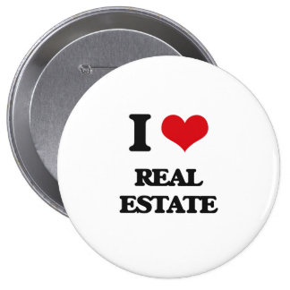 I Love Real Estate Buttons