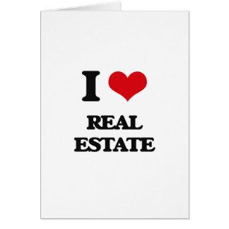 I Love Real Estate Card