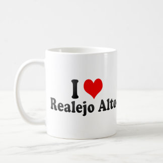 I Love Realejo Alto, Spain Classic White Coffee Mug