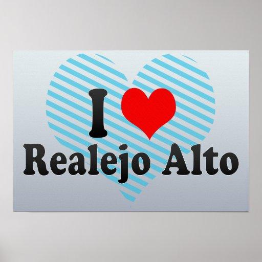 I Love Realejo Alto, Spain Poster