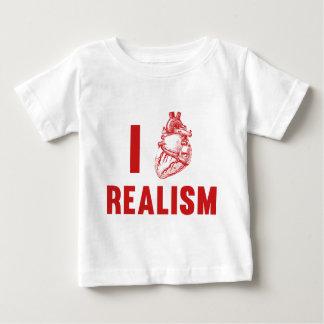 I Love Realism Baby T-Shirt