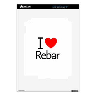 I Love Rebar Decals For The iPad 2