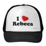 I Love Rebeca Hats