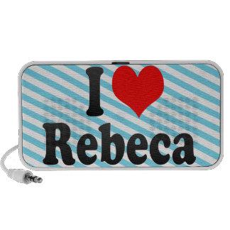 I love Rebeca Mini Speakers