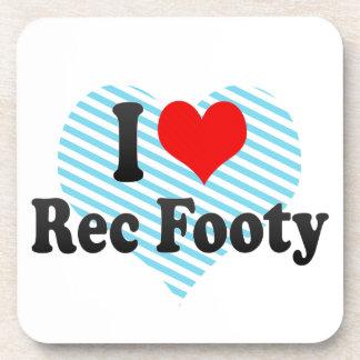 I love Rec Footy Coasters