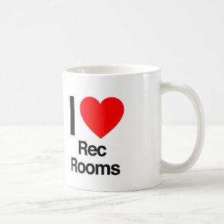 i love rec rooms coffee mug