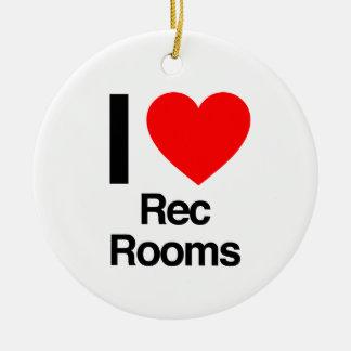 i love rec rooms christmas tree ornaments
