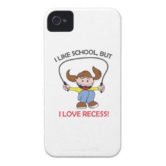 I LOVE RECESS iPhone 4 CASES