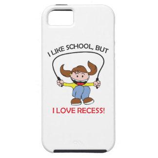 I LOVE RECESS iPhone 5 CASES