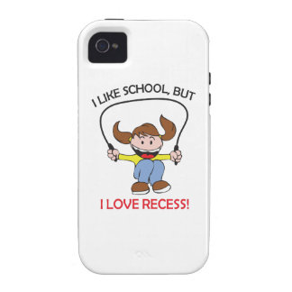 I LOVE RECESS VIBE iPhone 4 CASES