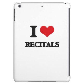 I Love Recitals iPad Air Covers