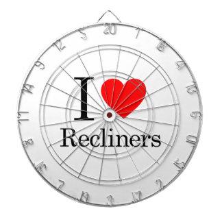 I Love Recliners Dart Board