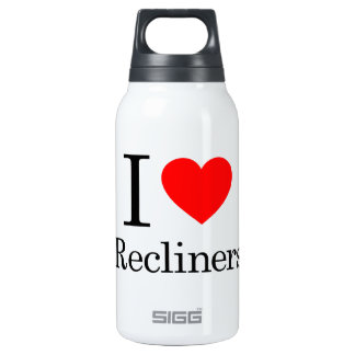 I Love Recliners Insulated Water Bottle