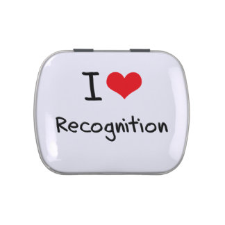 I love Recognition Jelly Belly Tins