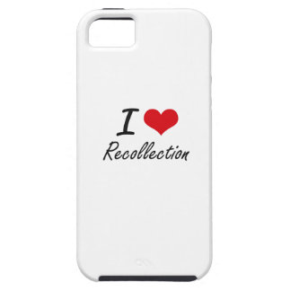 I Love Recollection iPhone 5 Covers