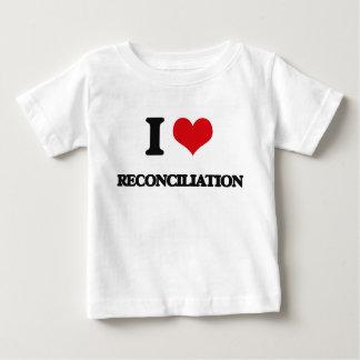 I Love Reconciliation T Shirts